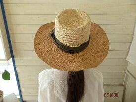 sublime ラフィアとパナマの切替HAT(SB181-0406-JP)