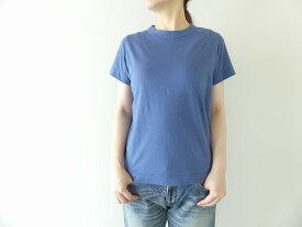 homspun(ホームスパン) 天竺半袖Tシャツ (3)ブルー(202-6271)