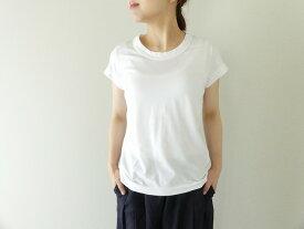 homspun(ホームスパン) 天竺フレンチスリーブTシャツ サラシ(6906)