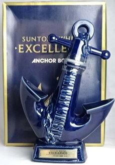 Suntory whisky excellence anchor bottle 760 ml 43 ° SUNTORY WHISKY EXCELLENCE ANCHOR BOTTLE Japanese Whisky A01310