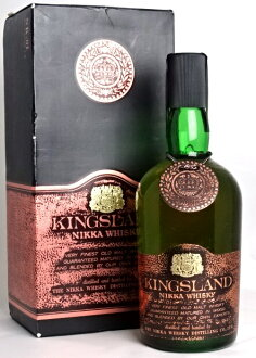 Kingsland Nikka whisky 760 ml 43 ° whisky expert valuation NIKKA KINGSLAND NIKKA WHISKY A01777