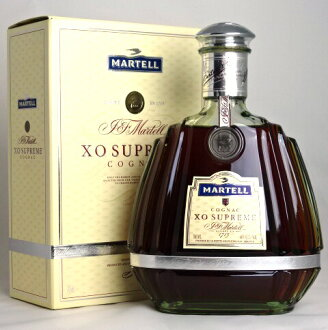 Martell XO Supreme 700 ml 40 times green bottle MARTELL XO SUPREME COGNAC A01805