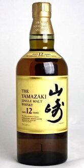 山崎 12 年單一麥芽威士卡 700 毫升 43 ° 三得利山崎 12yo 日本單一麥芽威士卡 A01957