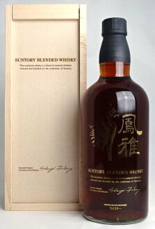 只有 500 ♦ ♦ 三得利峰崖 (什) 混合威士忌山崎 1984年雪利酒桶麦芽使用 700 毫升 43 ° 三得利混合威士忌 A02361
