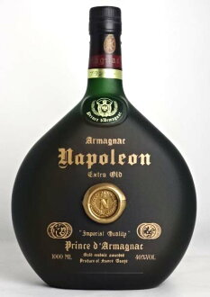 ♦ 旧瓶 ♦ 王子德阿拿破仑 1000年毫升 40 ° 白兰地王子从 A03765