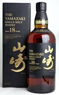 Suntory Yamazaki 18 years 700 ml 43 ° box with whiskey SUNTORY YAMAZAKI SINGLE MALT WHISKY AGED 18 YEARS A01860