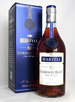 ■正规的物品■马特尔哨兵线蓝色700ml 40度白兰地/白兰地酒MARTEL CORDON BLEU OLD CLASSIC COGNAC A03504