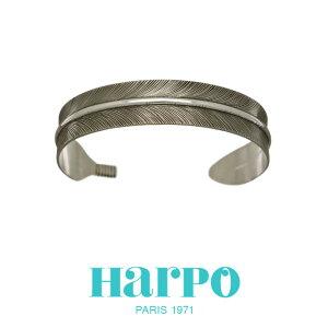 HARPO アルポ ハルポ NAVAJO FEATHER BRACELET BRW73 ナバホ フェザー ブレスレット バングル シルバー 羽根 カジュアル 重ね付け レディース