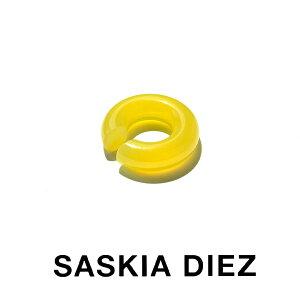 SASKIA DIEZ サスキアディーツ サスキアディツ BIG SEMIPRECIOUS No2 BIG AGATE YELLOW EARCUFF ビッグ アガット イエロー イヤーカフ 黄色 大ぶり レディース メンズ 片耳用