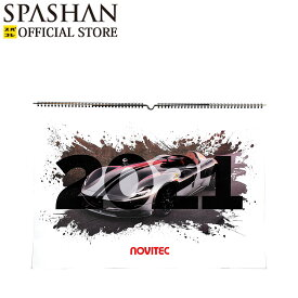 スパシャン メーカー直販 公式ストア NOVITEC 壁掛けカレンダー 2021 スパシャン 車 スーパーカー 単品 スパコレ