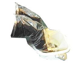 【送料無料/代引不可】足湯用 ビニール ソックス 100枚 防水 頑丈 お得 足が濡れない 靴下 タイツでもそのまま入れる!