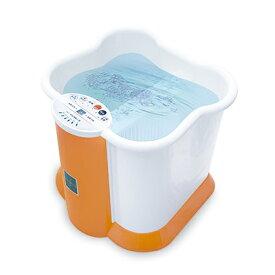 Ashiyu foot Spa 深型足湯KS-N1010 簡単排水 キャスター付 フットバス