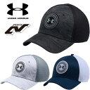 アンダーアーマー メンズ ゴルフ キャップ 帽子 ヒートギア(夏用) UNDER ARMOUR イーグルキャップ〔1283129〕