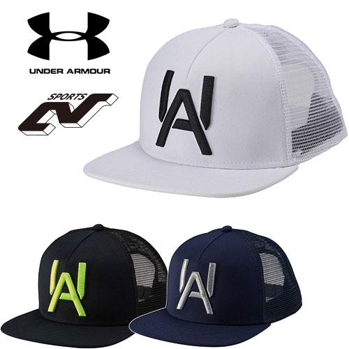 アンダーアーマー キャップ メンズ 野球 帽子 ヒートギア(夏用) UNDER ARMOUR ベースボールスタイルキャップ〔1295595〕