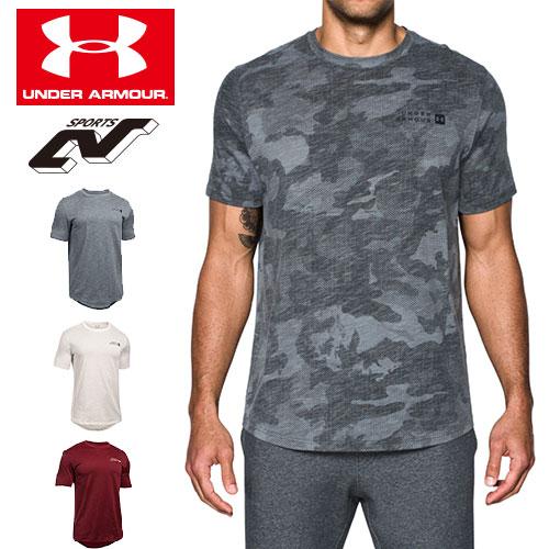 在庫処分セール アンダーアーマー メンズ Tシャツ ヒートギア(夏用) UNDER ARMOUR スポーツスタイルコアTシャツ〔1303705〕