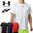アンダーアーマー メンズ 野球 Tシャツ ベースボールシャツ ベーシャツ ヒートギア(夏用) UNDER ARMOUR ビッグロゴベースボールTシャツ〔1295...