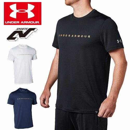 在庫処分セール アンダーアーマー Tシャツ メンズ 野球 ベースボールTシャツ 1319746 ヒートギア(夏用) UNDER ARMOUR テックTシャツ<ワードマーク>