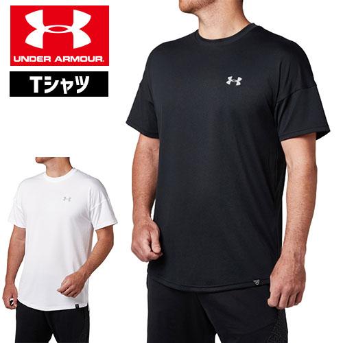 最終処分 アンダーアーマー Tシャツ 1319748 メンズ 野球 Tシャツ ヒートギア(夏用) UNDER ARMOUR テックTシャツ<24/7>