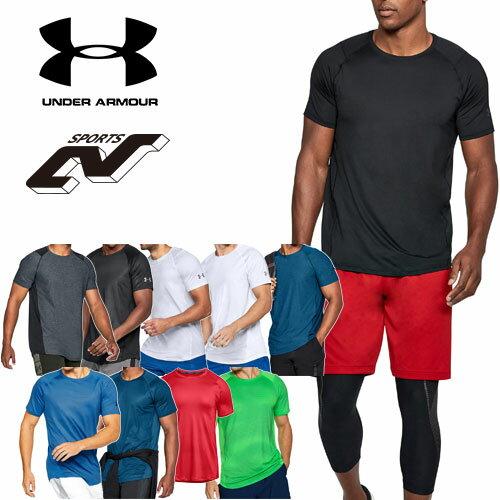 在庫処分セール アンダーアーマー メンズ Tシャツ ヒートギア(夏用) UNDER ARMOUR MK-1ショートスリーブ〔1306428〕