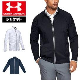 アンダーアーマー メンズ ジャケット ゴルフウェア 1327013 オールシーズンギア(春秋用) UNDER ARMOUR ストームウィンドストライクフルジップジャケット
