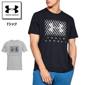 アンダーアーマー メンズ Tシャツ グラフィックTシャツ トップス 1329588 ヒートギア(夏用) UNDER ARMOUR ブランドビッグロゴTシャツ