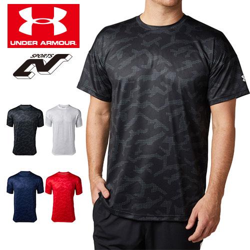アンダーアーマー メンズ Tシャツ グラフィックTシャツ 限定グラフィック 1331507 ヒートギア(夏用) UNDER ARMOUR テックTシャツ<シーズナルグラフィック>