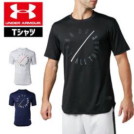 アンダーアーマー メンズ Tシャツ グラフィックTシャツ 限定グラフィック 1331557 ヒートギア(夏用) UNDER ARMOUR SC30テックTシャツ<I Can Do All Things>