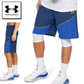 アンダーアーマー メンズ ハーフパンツ バスパン バスケットボール 1343004 ヒートギア(夏用) UNDER ARMOUR ベースライン10インチショーツ