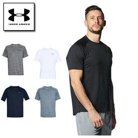 アンダーアーマー メンズ Tシャツ スポーツ 4XLまでの展開 トレーニング 1358553 ヒートギア(夏用) UNDER ARMOUR 定番 テックTシャツ