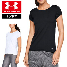 アンダーアーマー レディース Tシャツ 1328964 ヒートギア(夏用) UNDER ARMOUR ヒートギアアーマーTシャツ
