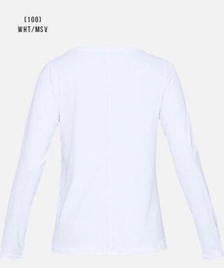 アンダーアーマーレディースTシャツ長袖インナー1328966ヒートギア(夏用)UNDERARMOURヒートギアアーマーロングスリーブ
