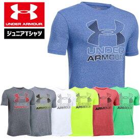 ワゴンセール アンダーアーマー ジュニア Tシャツ UNDER ARMOUR スレッドボーンTシャツ<ハイブリッドロゴ>