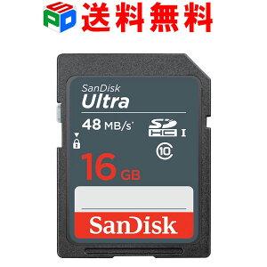 SDカードSanDiskサンディスクUltraSDHCカード16GB高速UHS-Iclass10送料無料スーパーSALE