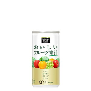 【送料無料】ミニッツメイドおいしいフルーツ青汁190g缶30本 Minute Maid