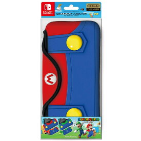 【即納★新品】NSW QUICK POUCH COLLECTION for Nintendo Switch(スーパーマリオ)Type-A【2017年11月16日発売】