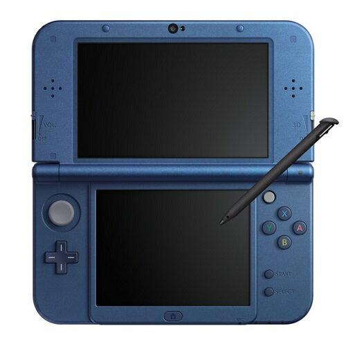【即納★新品】Newニンテンドー3DS LL本体 メタリックブルー(RED-S-BAAA)【数量限定3DSカード収納ケースプレゼント!】