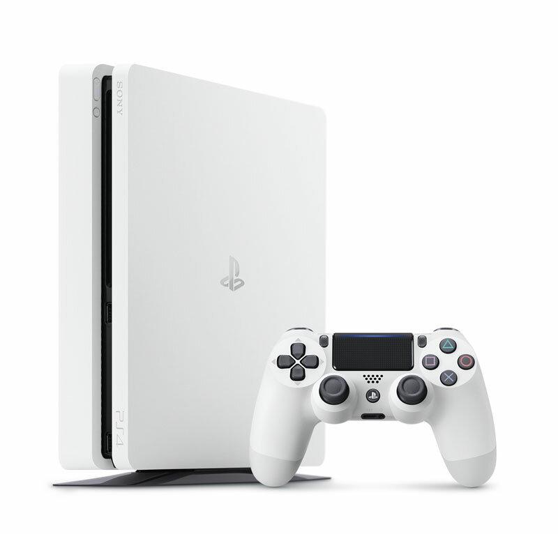 【即納★新品】PS4 PlayStation4 グレイシャー・ホワイト 500GB(CUH-2100AB02)