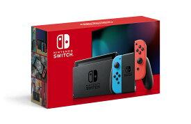 【他店販売印付き・即納★新品】NSW 新型 Nintendo Switch Joy-Con(L) ネオンブルー/(R) ネオンレッド(本体)【2019年08月30日発売】