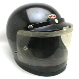シールド付 BELL STAR 120 BLACK 58cm フルフェイスヘルメットアメリカン族ヘルオンロードベルスター120ブラック黒色Mサイズ