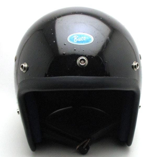 【在庫有 即納】【送料無料】BUCO BLUE LINE GT BLACK 60cm スモールジェットヘルメットオープンフェイスアメリカンブコブルーラインGTブラック黒色Lサイズ