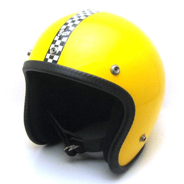【在庫有 即納】【送料無料】BUCO ENDURO CHECKER YELLOW 59cm ビンテージスモールジェットヘルメットオープンフェイスbellベルブコshmタチバナ立花バイクバイカーUSAアメリカンハーレーイージーライダーホンダヤマハMOMO