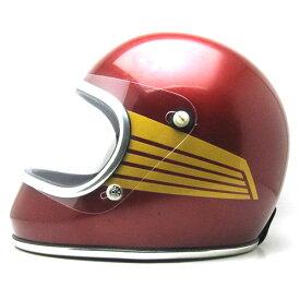 【10月30日値下】BHVシールド付 ARTHUR FULMER AF50 FALCON RED 59cm ビンテージフルフェイスヘルメットbellベルbucoブコshmタチバナ