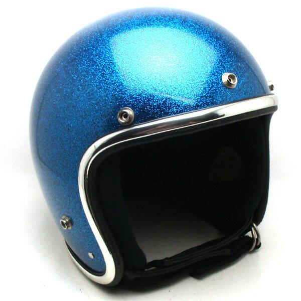 【在庫有 即納】【送料無料】ARTHUR FULMER AF40 METALFLAKE BLUE 60cm スモールジェットヘルメットオープンフェイスアメリカンアーサーフルマーブルー青色ラメメタルフレークLサイズ