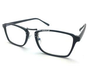 SQUARE BRIDGE PC GLASS(スクエアブリッジPCグラス)眼鏡メガネめがねブルーライトcut軽減パソコン用細フレーム知的クール黒縁黒ぶちクリアレンズ透明uv紫外線カット四角型タイプフレームシェ