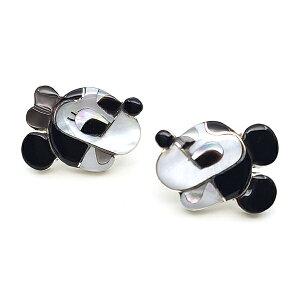 Paula Leekity Pierce Mickey Mouse and Minnie Mouse(ポーラ リーキティ ピアス ミッキーマウス&ミニーマウス) indian jewelryスタッドピアスイヤリングフェイス顔waltdisneyディズニーミニーちゃん白黒モノ