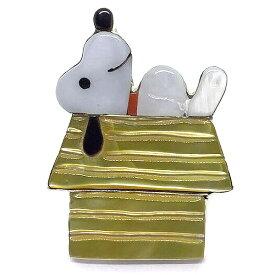 Paula Leekity Snoopy on Rooftop Ring (ポーラ リーキティ 屋根の上のスヌーピー リング 16号) ズニ族zuniインディアンジュエリーネイティブアメリカンインレイ技法シルバー貝シェルオニキス指輪伝統工芸品ピーナッツキャラクター