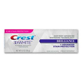 【送料無料】 クレスト 歯磨き粉 3D ホワイト ブリリアンス トゥースペースト 116g(4.1oz)クレスト ハミガキ 3Dホワイト ホワイトニング オーラル オーラルケア 歯磨き
