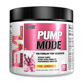 PumpMode パンプモード ピンクレモネード味 Evlution Nutrition(エボリューションニュートリション)30回分 159g筋トレ/パンプアップ /トレーニング/ビタミン/パウダー