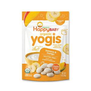 6か月からのオーガニックベビーフード ヨージス バナナ&マンゴー味 Happy Baby(ハッピーベイビー)赤ちゃん/おやつ/栄養/新米ママ/離乳食