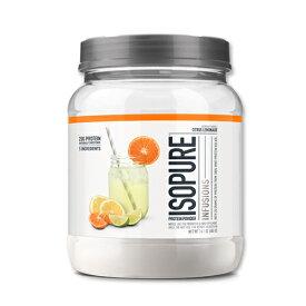 Isopure Infusions プロテイン 400g シトラス レモネードホエイプロテイン/筋トレ/スポーツ/フルーツ/タンパク質